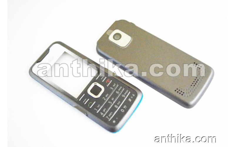 Nokia 7210 Kapak Tuş Orta Çıta High Quality Cover Middle Frame Gray