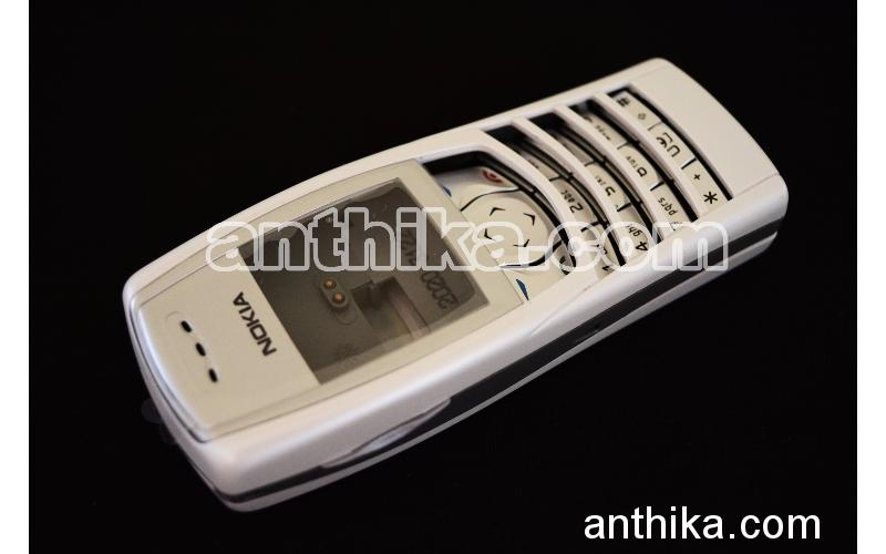 Nokia 6610 Kapak Kasa Tuş Original Full Housing White New