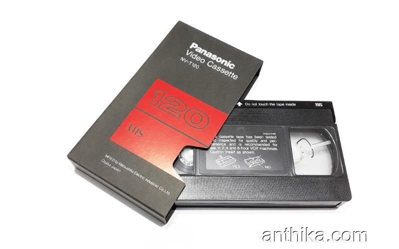 Panasonic Vhs Kaset 120 Dakika Sıfır Ambalajında