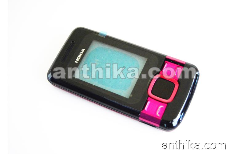 Nokia 7100 Supernova Kapak Kasa Tuş High Quality Full Housing Pink New