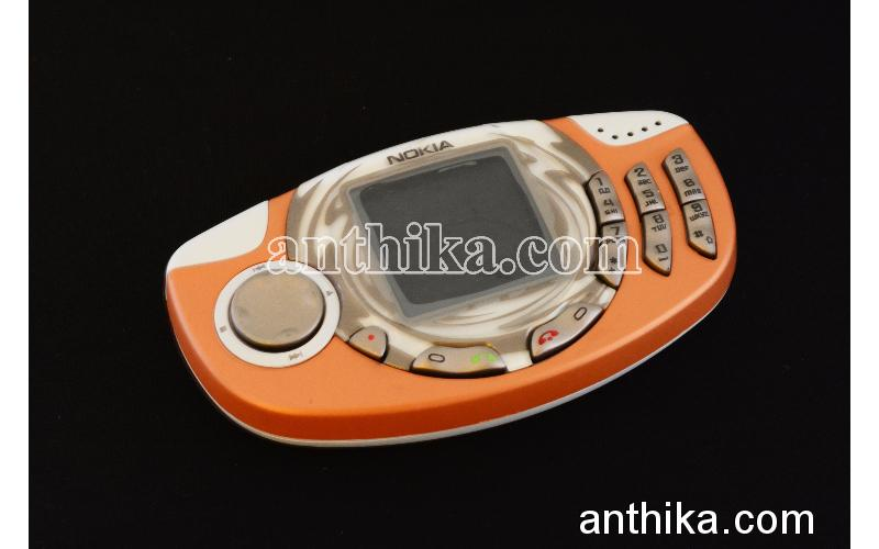 Antika Nokia 3300 Cep Telefonu Orange Swap Çankaya Elden Teslim