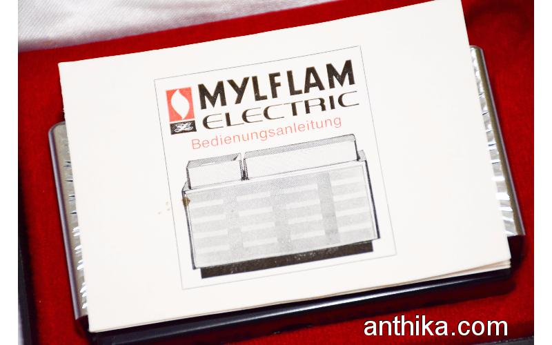 Antika Mylflam Electric Çakmak Vintage Mylflam Electric Lighter in Box