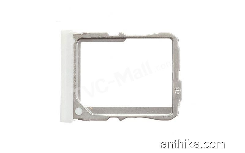 LG D802 g2 Sim Tepsisi Sim Kapak Original Sim Card Holder White Used