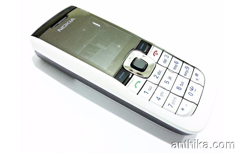 Nokia 2610 Orjinal Kapak Full Kasa Housing White