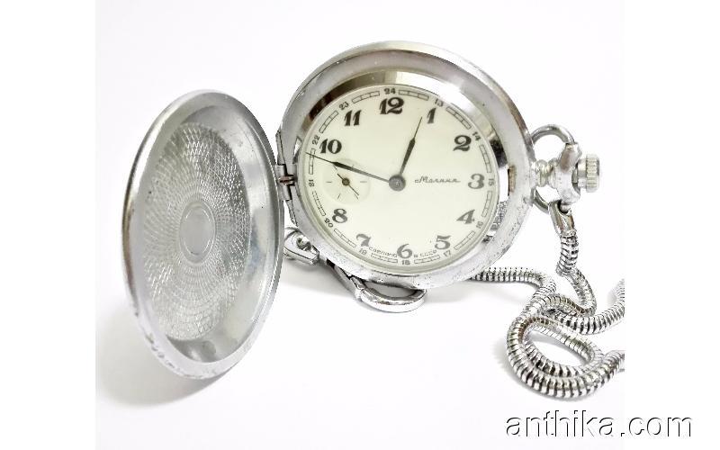 Rus Molnija Cep Saati Köstekli Gerçek Dede Yadigarı