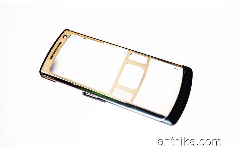 Samsung u800 Kapak Original Front Cover Silver Used