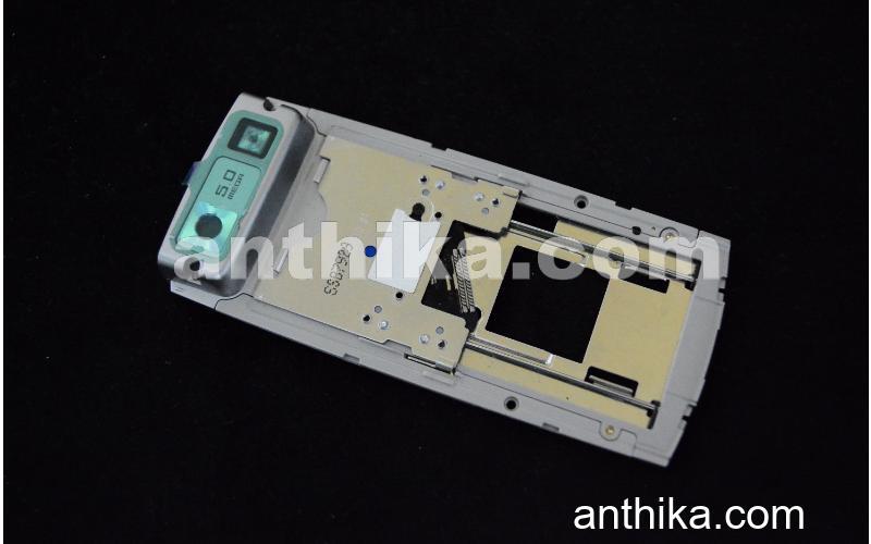 Samsung G600 Kızak Mekanizma Original Slider Slide Assy Silver New