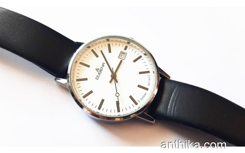 Vintage Dugena Unisex Saat Old Vintage Watch Good Condition
