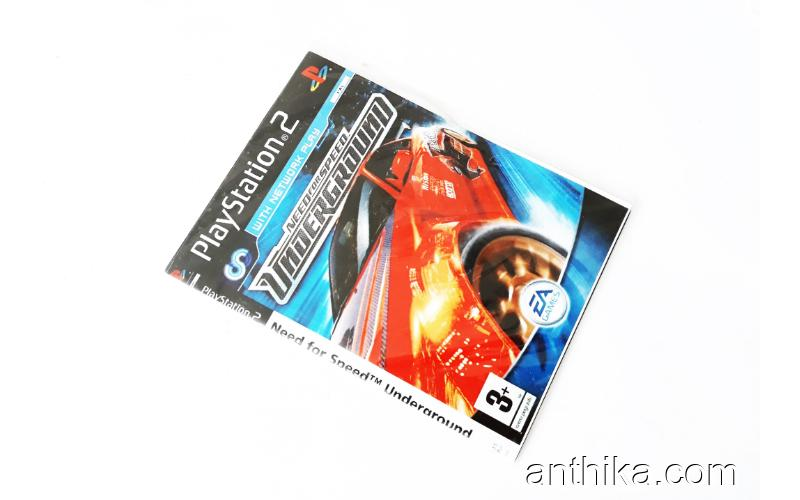 Playstation 2 Need For Speed Underground Oyunu