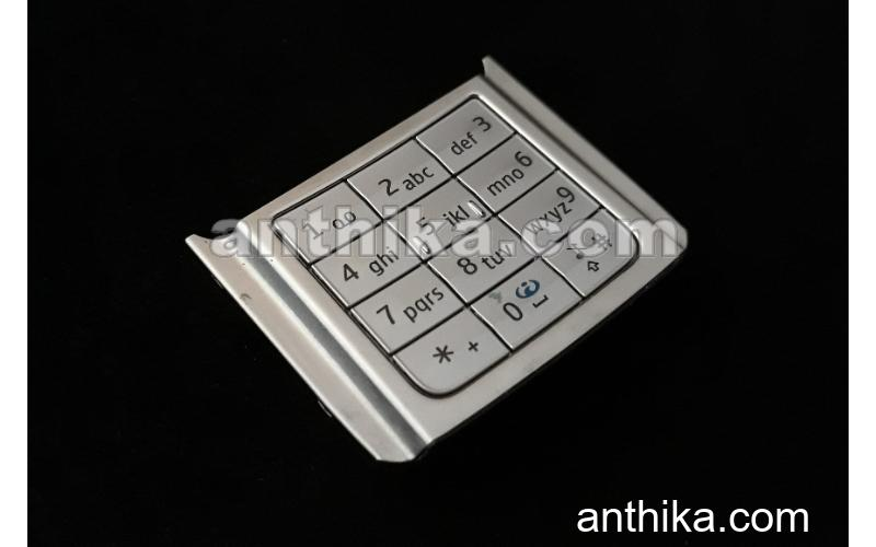 Nokia E65 Alt Tuş Ve Çerçeve Original Numeric Keypad and Frame Used