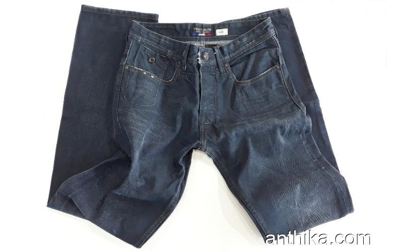 Teddy Smith Erkek Kot Pantolon Mumlu Jeans 28x32