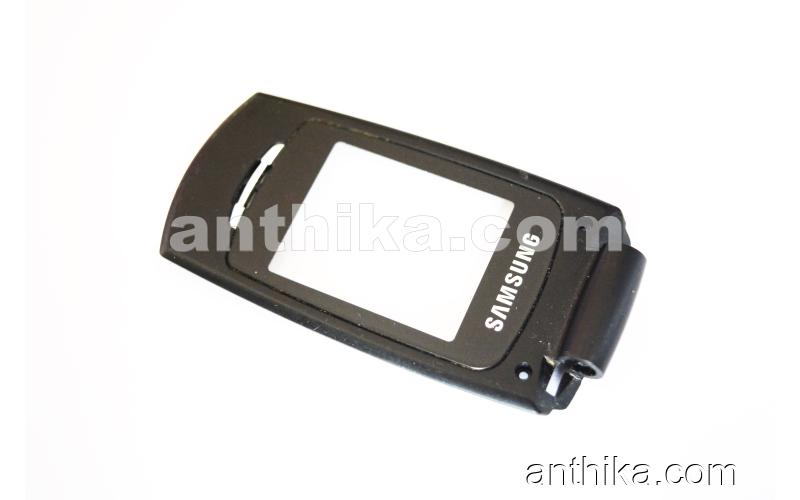 Samsung X210 Ekran Çerçeve Lens Original Display Glass Black Used