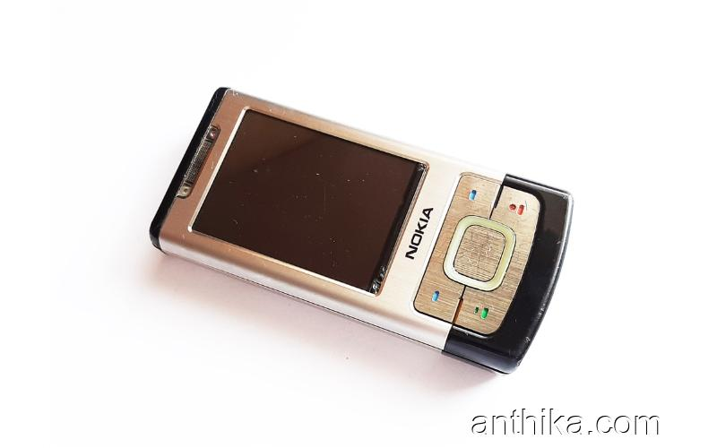 Nokia 6500 Slide Kapak Kasa Tuş Ekran Original Full Housing New Condition