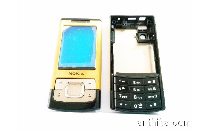 - Gold Kapak 4043 Nokia Full Kasa 6500 A Housing Slide kalite