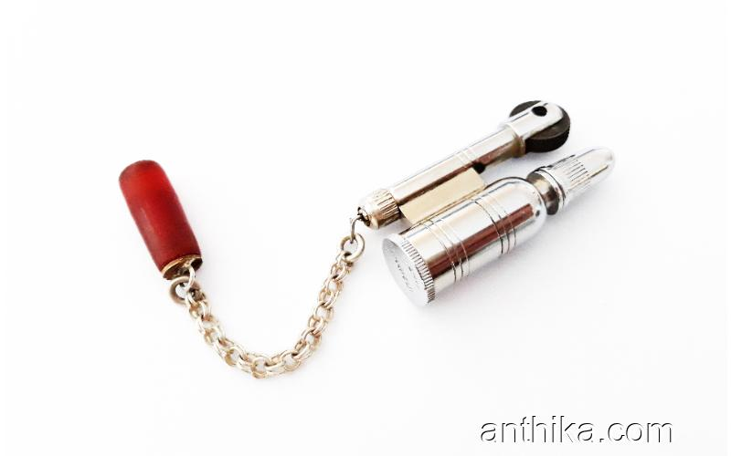 Vintage Zenit Magnum Amerikan Asker Çakmağı Old Military Small Lighter