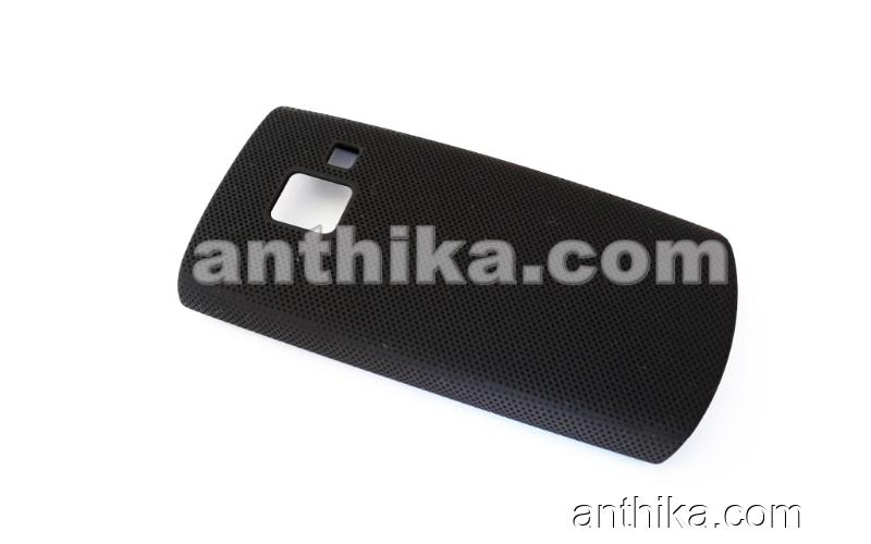 Nokia X2-01 Arka Kapak Kılıf High Quality Back Cover Black New