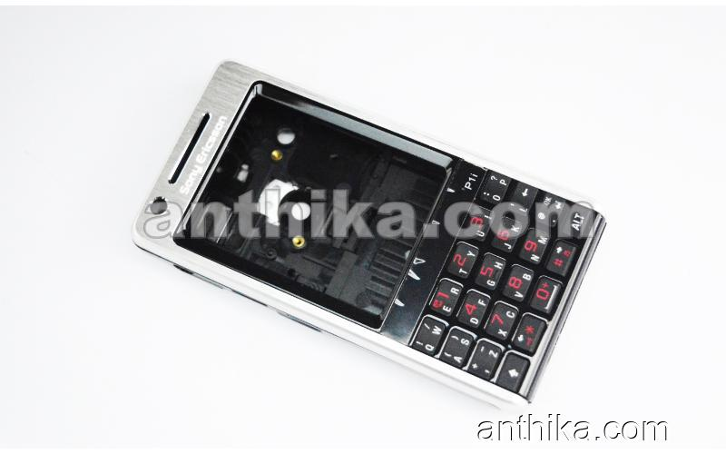 Sony Ericsson P1 P1i Kapak Kasa Tuş High Quality Full Housing Silver New