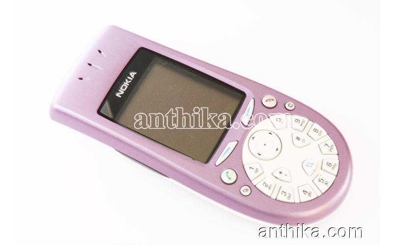 Antika Nokia 3650 Cep Telefonu Swap Kutusunda Lilac