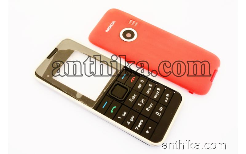 Nokia 3500 Classic Kapak Tuş A++ Kalite Cover And Keypad Black New