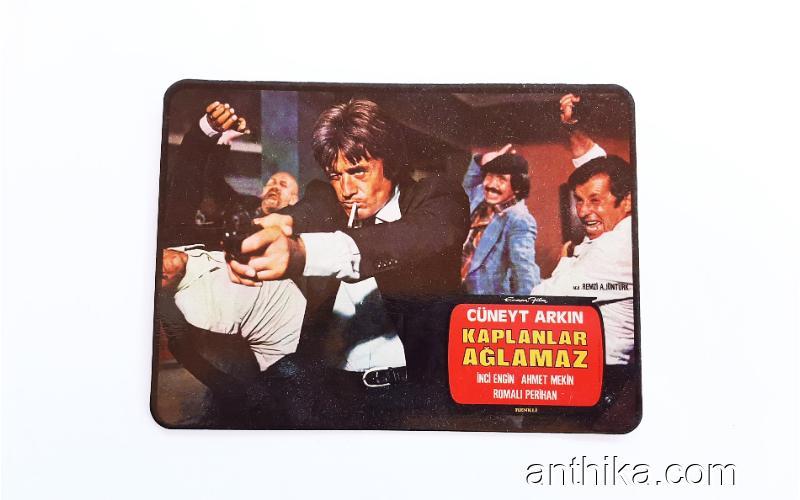 Vintage Kartpostal Yeşilçam Hatırası 007 Kaplanlar Ağlamaz Cüneyt Arkın