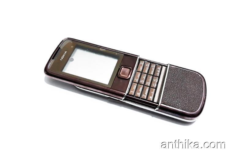 Nokia 8800 Arte Sapphire Kasa Kapak Tuş Good Quality Housing New