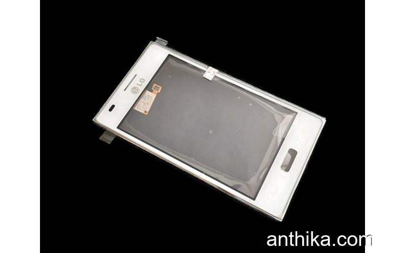 Lg Optimus L5 E610 E612 Dokunmatik Çıtalı Original Touch Digitizer White New