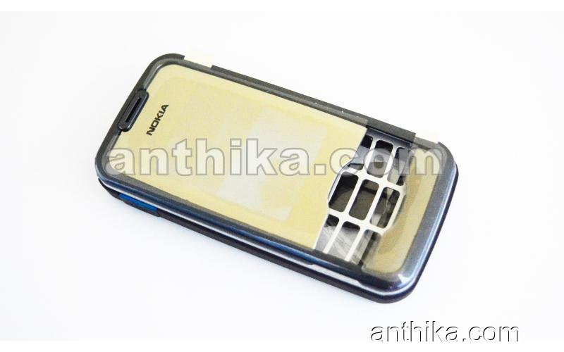 Nokia 7610 Supernova Kapak Kasa High Quality Housing Navy Blue New
