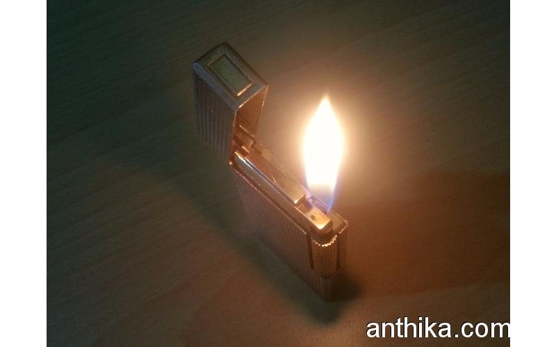Antika Zenith 3000 Çakmak Vintage Chrome Gas Lighter