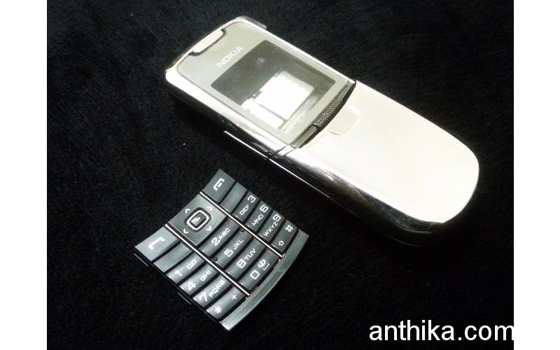 Nokia 8800 Light Edition Kapak Tuş Kasa Orjinal Full Housing Used