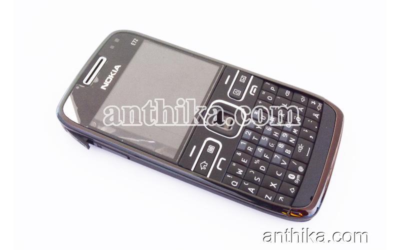 Nokia E72 Kapak Kasa Tuş Orjinal Kalitesinde Full Housing Black New