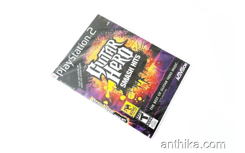 Playstation 2 Guitar Hero Smash Hits Oyunu