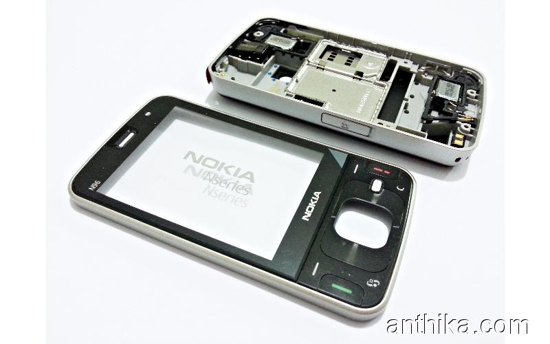 Nokia N96 Orjinal Kapak Full Kasa Black Housing