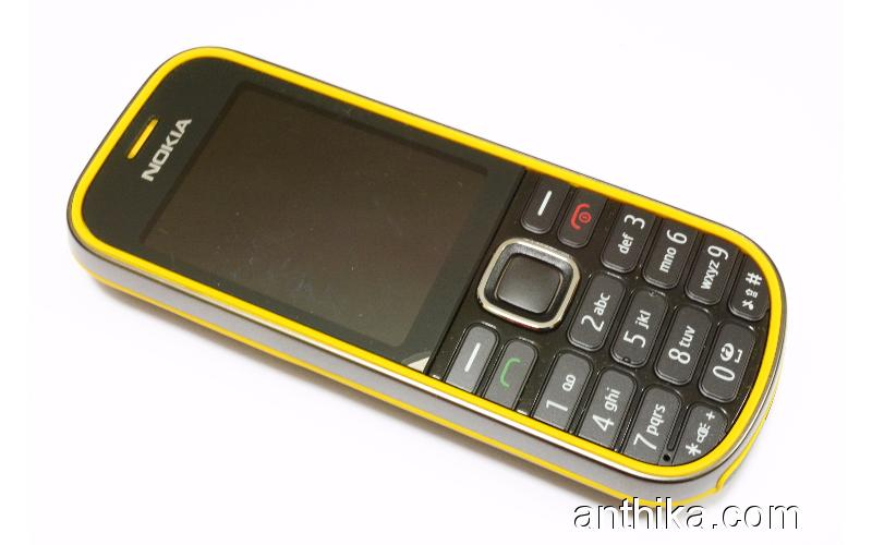 Nokia 3720 Classic Outdoor Cep Telefonu Swap Sıfır Black Yellow
