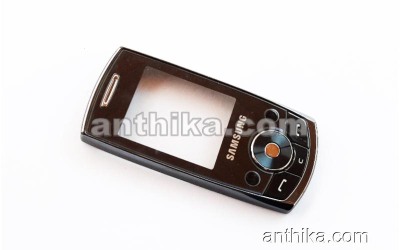 Samsung J700 Kapak Tuş Original Front Cover and Keypad Black Used