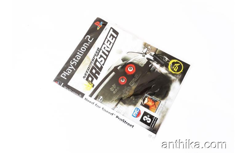 Playstation 2 Need For Speed Prostreet Oyunu