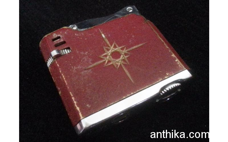 Antika Minuet Çakmak Orjinal Vintage Lighter Used
