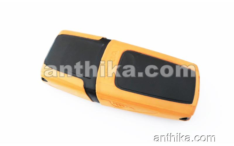 Nokia 5210 Kapak Tuş High Quality Body Cover Yellow New