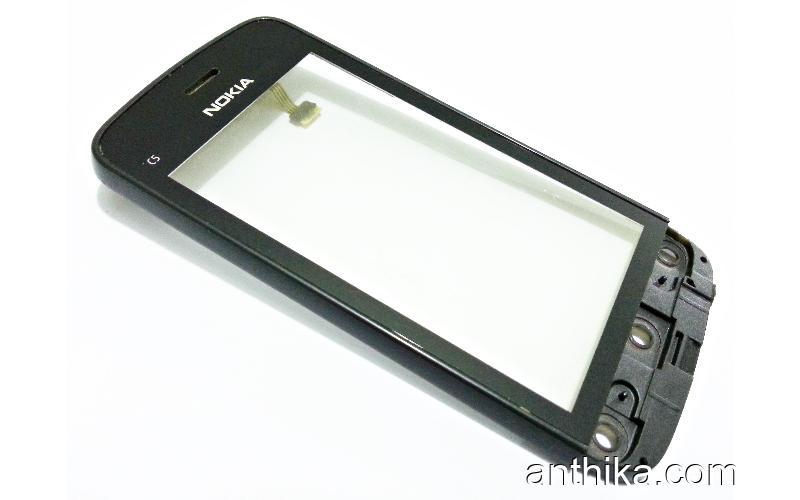 Nokia C5-03 C5-05 C5-06 Orjinal Dokunmatik Digitizer Touchscreen Black Used
