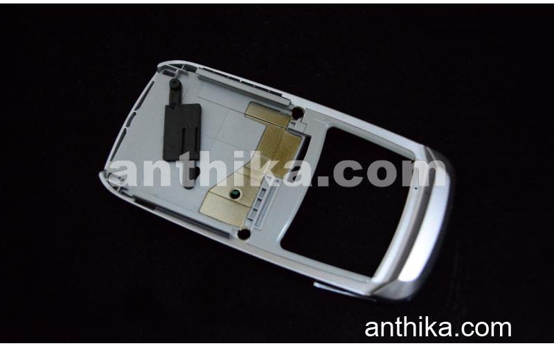 Samsung E250 Orta Panel Original Slider Slide Assy Silver New