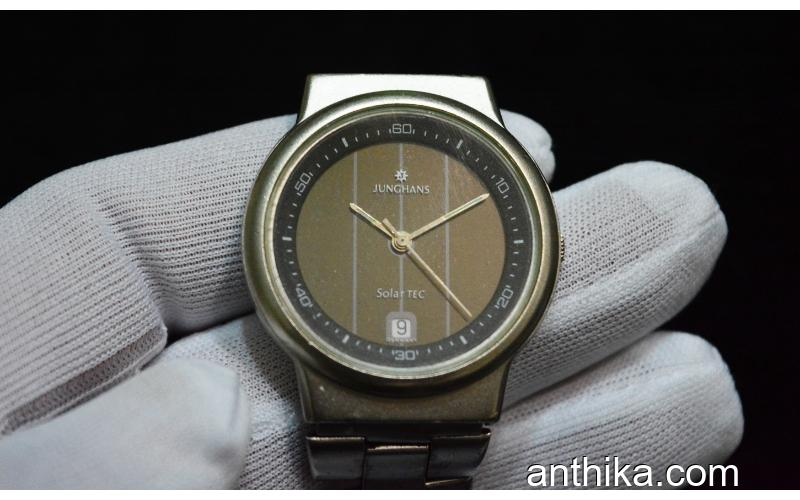 Antika Junghans Saat Old Vintage Solar Technology Watch New Condition
