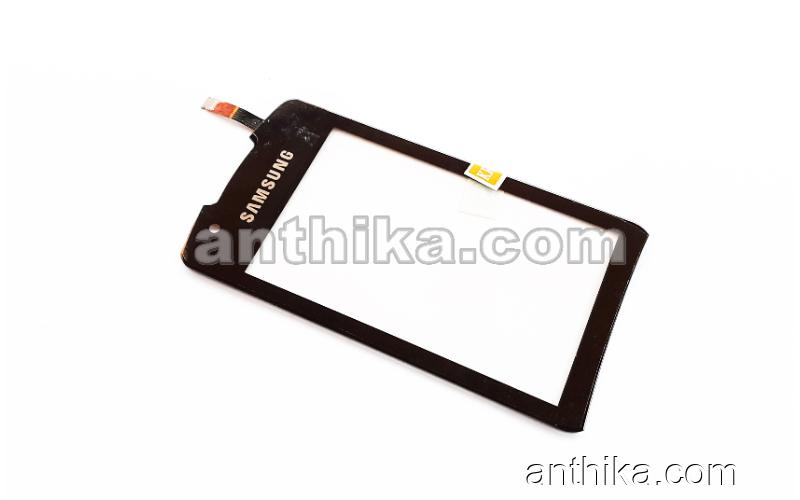 Samsung S5620 Monte Dokunmatik Original Digitizer Touchscreen Black New