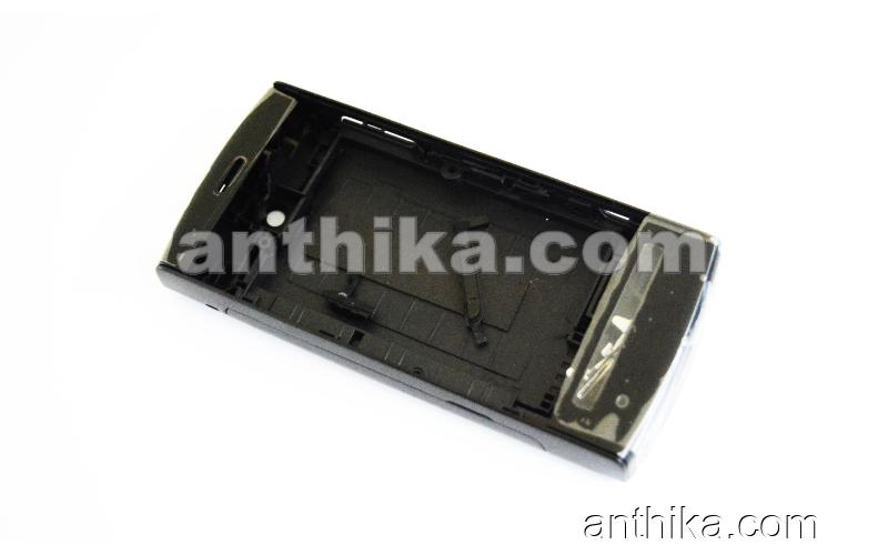 Nokia 5250 Kapak Kasa Tuş High Quality Full Housing Black New