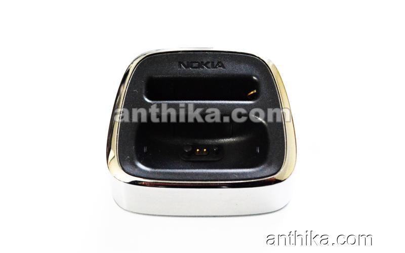 Nokia 8800 Silver Dock Stand Original Desktop Charger DT-8