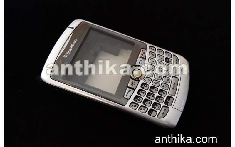 Blackberry 8300 8310 8320 Kapak Kasa Tuş Original Housing Silver New