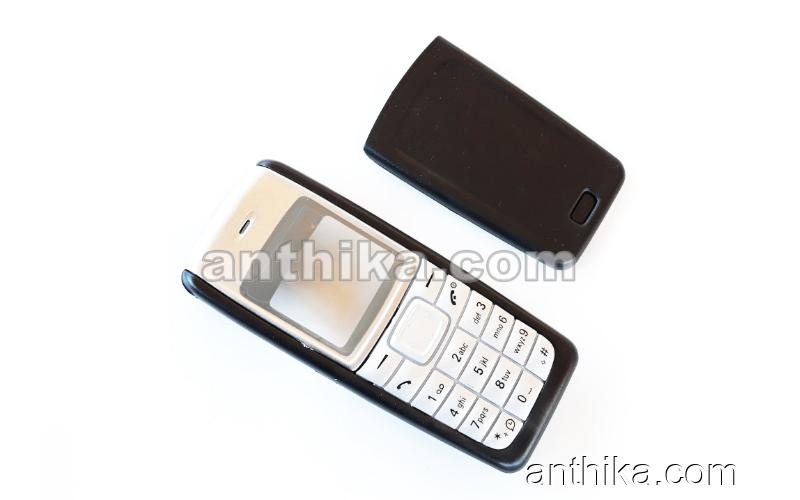 Nokia 1110 1110i 1112 Kapak Tuş High Quality Xpress on Cover Black New