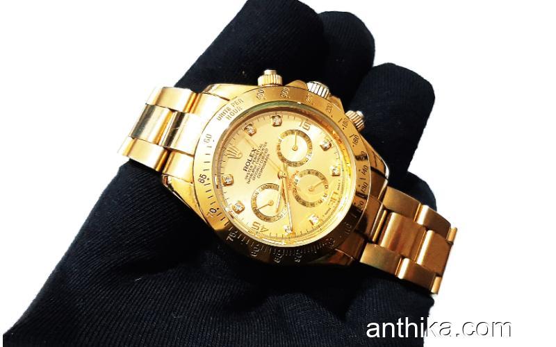 Otomatik Unisex Gold Saat