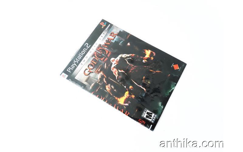 Playstation 2 God of War Oyunu