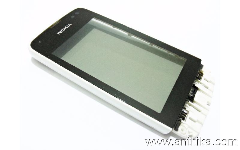 Nokia Asha 311 Dokunmatik Original Digitizer Touchscreen White 0258305