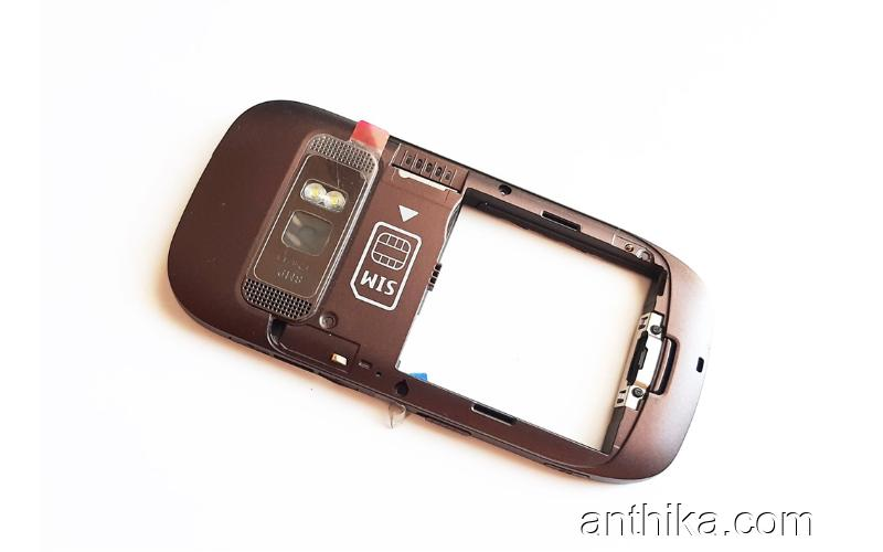Nokia C7 C7-00 Kasa Buzzer Original Middle Cover Loudspeaker Brown New