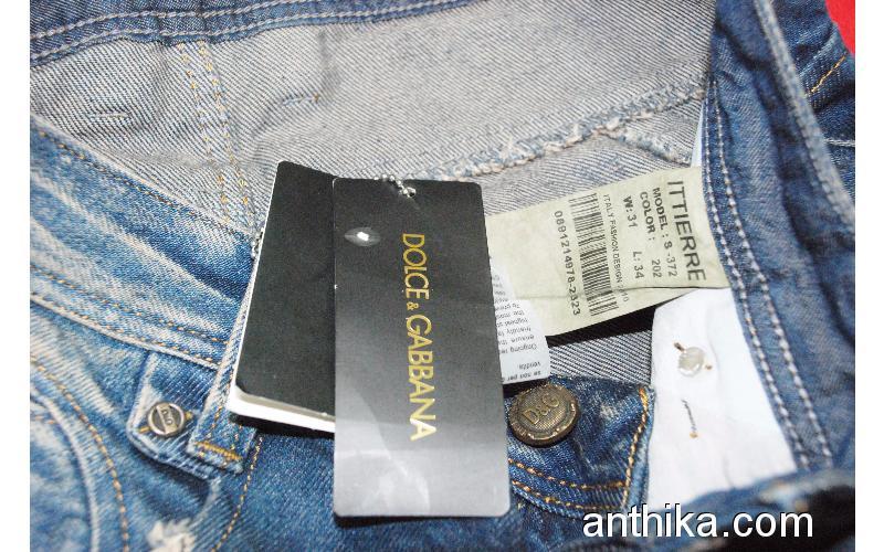 Dolce Gabbana Kot Pantolon Jeans 30x33 - 953996   anthika.com d00160a187bc
